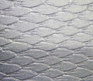 Bearbeitete Aluoberfläche
