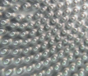 Oberfläche einer Strukturwalze